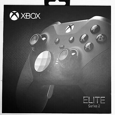 Xbox One S Elite Series 2 Controller - Black -  New - Fast Ship by USPS Priority
