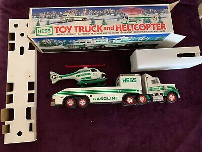 Hess 1995 Toy Truck & Helicopter,    original packaging,