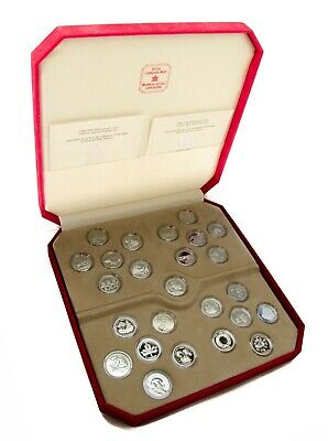 1999 & 2000 Millennium Chinese Special Edit Coin Sets 24 +1 Silver Medallion RCM