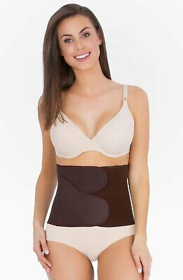 Belly Bandit BFF-Brown Small Form-Fitting Belly Wrap Support Postpartum Recovery