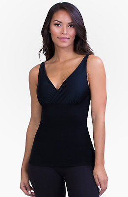 Belly Bandit Mother Tucker Nursing Tank Black Small-Shaping Tank for Nursing!