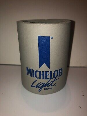 Rare Vintage 70s 80s MICHELOB LIGHT BEER Koozie Can Holder Promo Ad VTG ALCOHOL