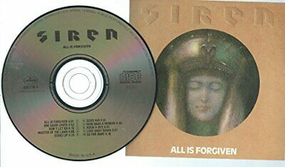 SIREN (RED SIREN) - All Is Forgiven - CD - **Mint Condition** - RARE