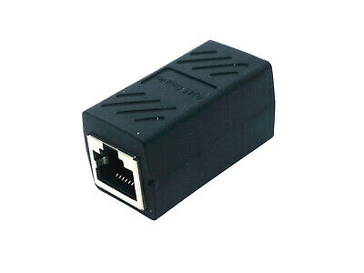 1x RJ45 LAN Ethernet Network Extension Splitter Cable Converter Adapter