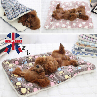 New Pet Washable Home Blanket Cat Dog Bed Cushion Mattress Kennel Soft Crate Mat
