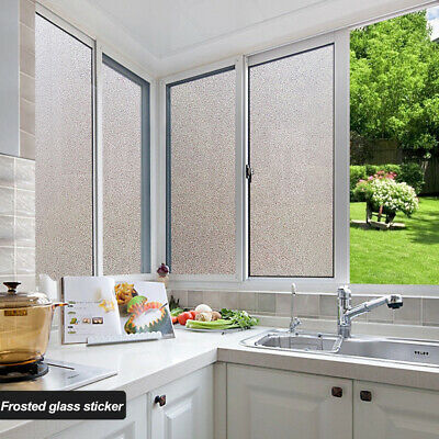 200X45CM Frosted Window Film Sticker Self Adhesive Etched Privacy Glass Vinyl