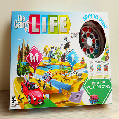 The Game of Life Board Game Fun Party Kids Family Interactive 2019 New Edition