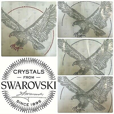 Swarovski Iron Eagle Motifs All Colours