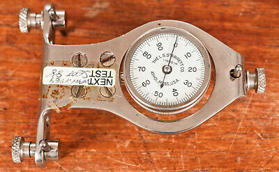 Starrett Back Plunge indicator clock DTI on device used to compare height/depth