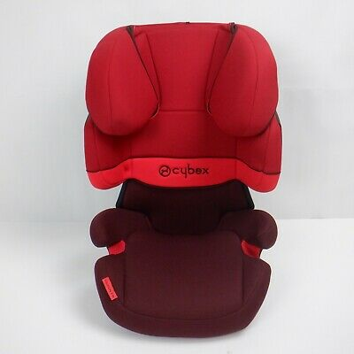 CYBEX Silver Solution X Child's Car Seat, Group 2/3 (15-36 kg), Rumba Red