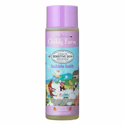 Childs Farm Bubble Bath Organic Tangerine - 250ml