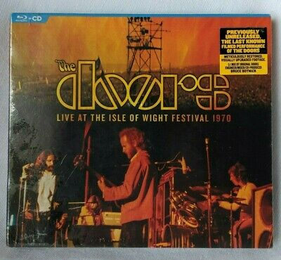 The Doors Live at the Isle of Wight 1970 CD + BluRay *Sealed*