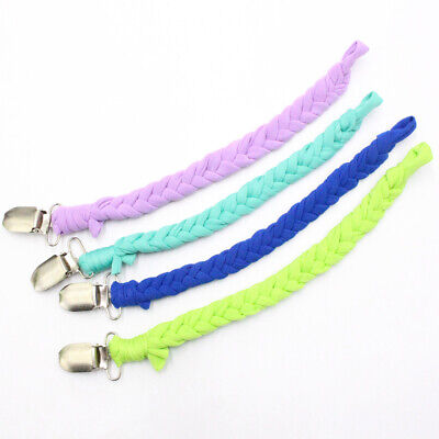 Diverse Nipple Pacifier Clip Dummy Soother Leash Holder Strap Chain Kids Baby