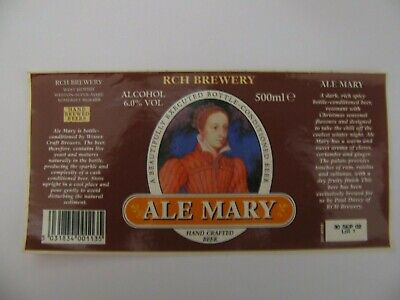RCH Brewery ALE MARY 500ml Wessex Craft Brewers Ltd England