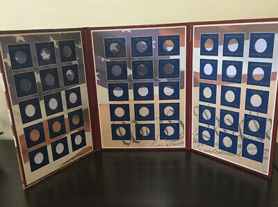 Readers Digest U.S. Presidential Dollars-Deluxe Coin Collector's Album With Book