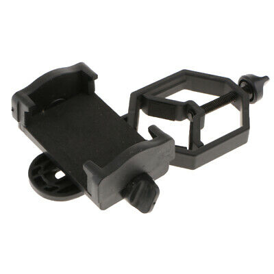 Universal Phone Spotting Scope Adapter Mount Clip for Telescope Binoculars