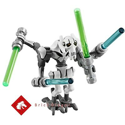 Lego Star Wars - General Grievous minifigure - NEW from set 75199