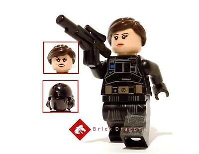 Lego Star Wars Rogue One Jyn Erso minifigure from set 75171