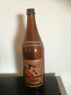 Old Soldier Rum Bottle