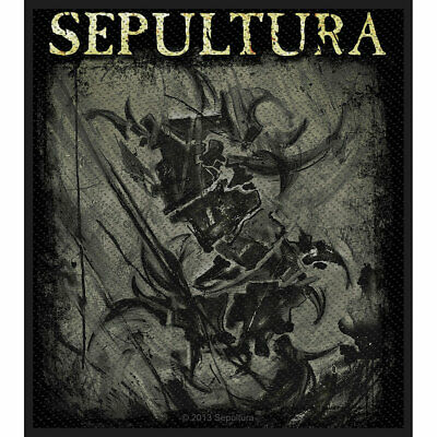 Sepultura Men's The Mediator Woven Patch Black