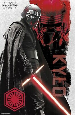"Star Wars The Rise Of Skywalker Poster - Star Wars Movie Poster 11"" x 17"" KYLO"