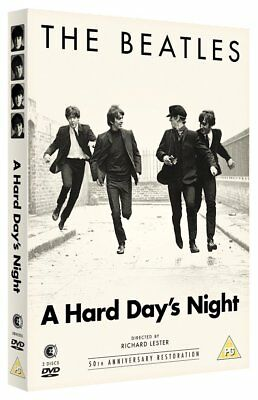 The Beatles  A Hard Day's Night   (DVD)   **Brand New** 50th Anniversary Edition