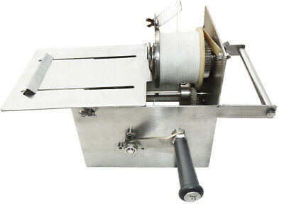 INTBUYING 42mm Small Hand-rolling Sausage Tying/Knotting Machine Stainless Steel