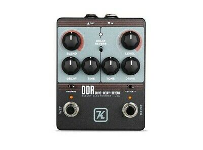 Keeley Electronics DDR Drive Delay Reverb Guitar Effects Pedal