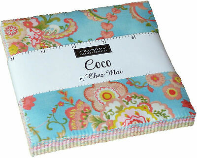 Coco by Chez Moi Charm Pack/Patchwork/Fabric/Quilting