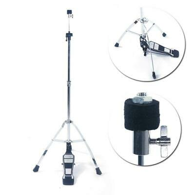 Pedal Control High Hat Cymbal Drum Stand Hi-Hat Mount w/ Pedal Percussion