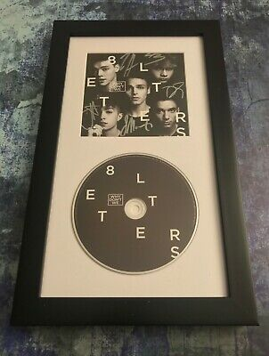 GFA 8 Letters Boy Band * WHY DON'T WE * Signed Framed CD Booklet W7 COA