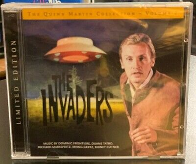 Quinn Martin Collection  Vol. 2 – The Invaders: Limited Edition (2-Cd Set)