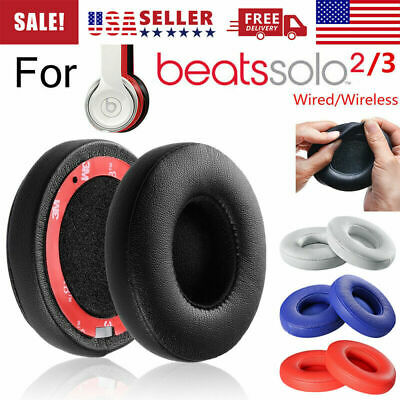 New Replacement Ear Pads Cushion For Beats by Dr Dre Solo 2 Solo 3 Wireless USA