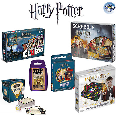 Harry Potter Juegos - Cluedo - Top Trumps - Scrabble & Más