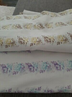 Single Bed Retro Vintage,sheets,material,fabric ,craft