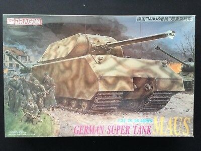 Voyager PE35077 1//35WWII German MAUS Super heavy tank For DRAGON 6007//9133
