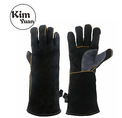 by Worldwide Sourcing Pack of 2 GRY Welding Gloves PartNo KH712