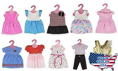 XADP 18 Inch Doll Clothes 10 Different Unique Styles Outfits for American Girl D