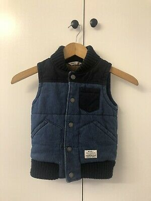 Boys Country Road Vest, size 4-5