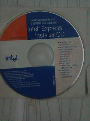 Intel Express Desktop Board Installer Driver CD Windows XP Ready