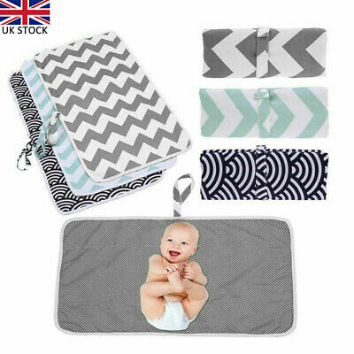 Portable Foldable Washable Baby Waterproof Travel Nappy Diaper Changing Mat Pad*