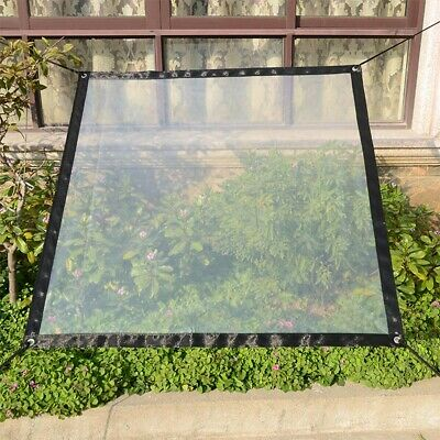 Heavy Duty Glass Clear Waterproof PE Tarpaulin Animal Stall Cover Sheet