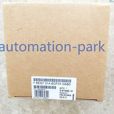 1PC NEW IN BOX SIEMENS 6ES7314-6CF01-0AB0 6ES73146CF010AB0 1 year warranty