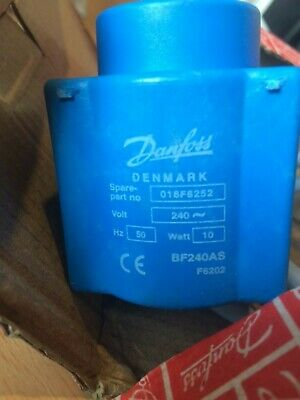 Danfoss 018F6252 Solenoid Coil With 1 Meter Cable