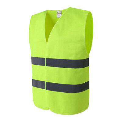 High Visibility Safety Vest Free Size for Jogging, Biking,Motorcycle,Walking