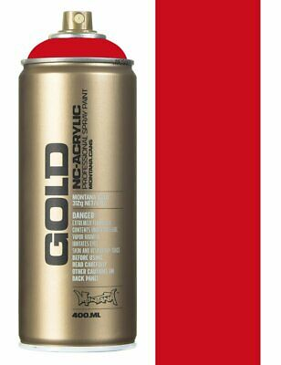 Montana Gold S3000 Shock Red Spray Paint - 400ml
