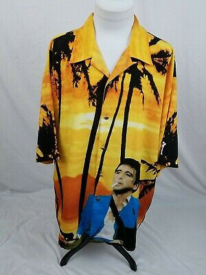Scarface By Dragonfly Colorful Movie Tony Montana Camp Shirt