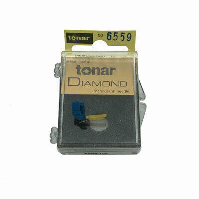 Replacement Record Stylus Needle for the Shure White Label Cartridge by Tonar