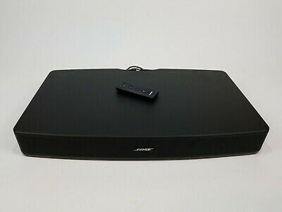 Bose Solo TV Sound System Speaker w/ Remote  Model 410376
