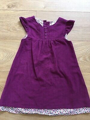 Girls Jojo Maman Bebe Cord Dress Age 4-5